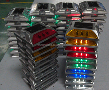 Solar LED Road Stud Light Reflection Road Safety Road Stud Adhesive