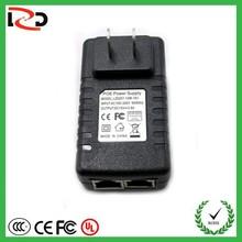 New Casing 802.3at/802.3af compatible 15V24V48V single port POE injecor