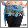Fashion new design belly dance hip scarf