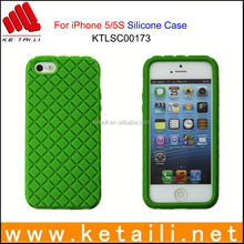 Custom Design Silicone Mobile Phone Cover for iPhone 5/5S