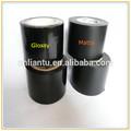 黒塩ビ管の包装テープケーブルソリューション