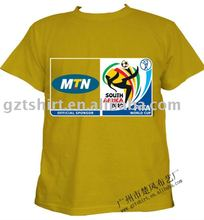 Promotion cotton printed t shirt