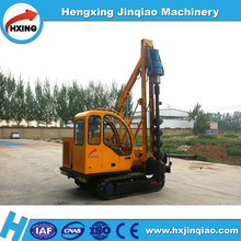 screw pile driver rotary drilling photovoltaic crawler pile driver