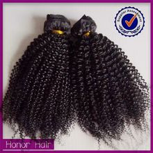 Peerless! Hot sale salon unprocessed wholesale afro kinky curly good hair virgin brazilian and peruvian hair