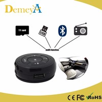 Portable Multifunction Car Bluetooth Receiver With magnet holder