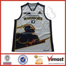 custom sublimation basketball top jerseys 15-4-18-6