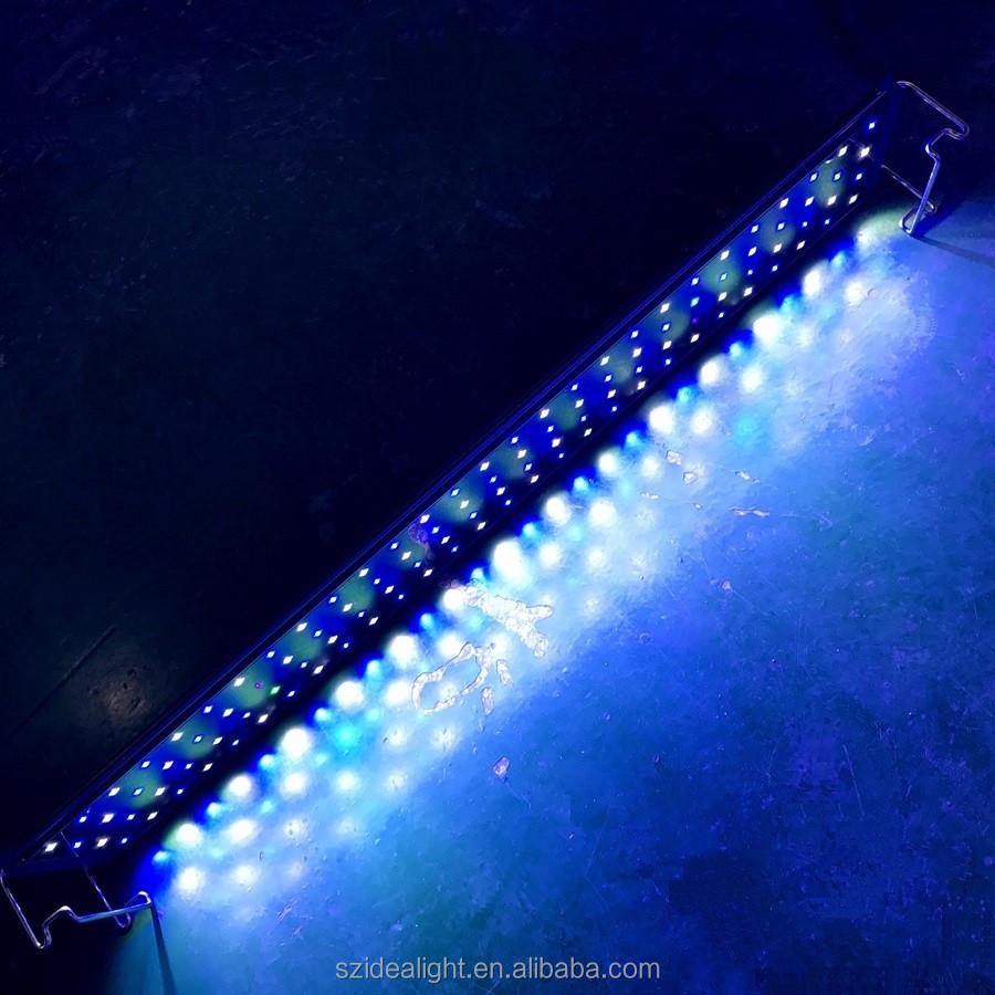4ft 220 w hidroponia sistema de dsuny levaram luzes do aquário para coral reef led com cubo nano aquário de água doce