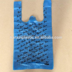 top quality custom made shopping plastic bag with logo