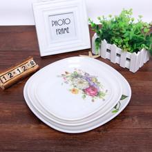 Modern Square Melamine Tray, Melamine Plate, wholesale Melamine Dinnerware