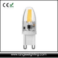 Energetic Lighting 1.5W Equal 20W Halogen Lamp Extended Life LED Bulb 2835SMD DIMMABLE 1.5W G9 Bulbs