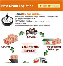 International logistics GuangZhou to Canada