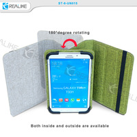 New arrival Canvas diary 9.7 inch 10.1 inch universal tablet leather case