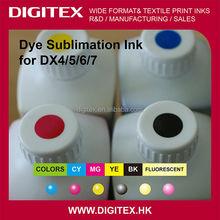 Fluorescent Sublimation Dye Ink for Mimaki JV33/JV300/JV150