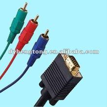 VGA To 3RCA AV Cable Assembly