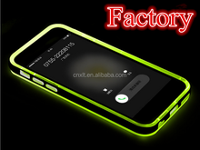 Hot sale light up cellphone cases for iphone5 LED light flash cases for iphone5s with high quality