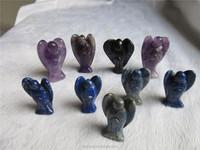 Fluorite Angel Carvings crystal