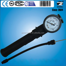 40mm plastic case ball pressure gauge for volleyball basketball football leather