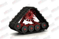 Supply high quality atv rubber track and crawler