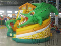 Gran tobogán del parque de atracciones de agua inflable en Venta