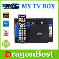original mx box amlogic 8726 mx / mx2 tv box dual core android smart tv box escrow payment accept