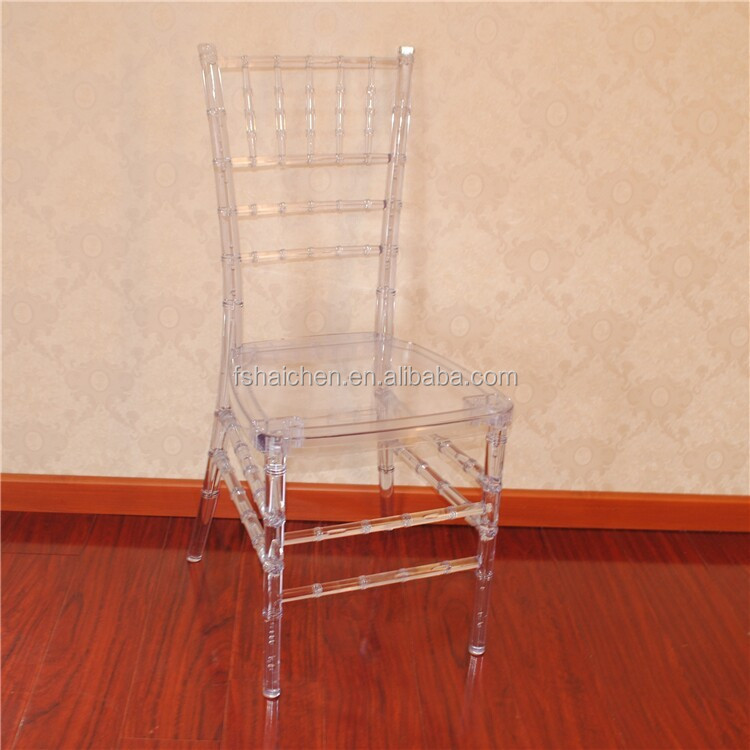 crystal clear resin chiavari chair for wedding reception. Black Bedroom Furniture Sets. Home Design Ideas