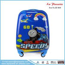 Latest design travel trolley luggage bag set, cartoon characters luggage