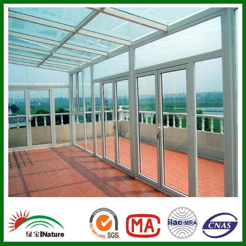 clear polycarbonate sheet for house