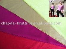 yoga wear knitted fabric