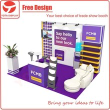 Yota 10ft reusable trade show exhibition stand