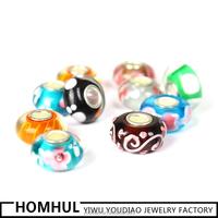 Yiwu Factory Direct Sale Murano Bead For Pandora Style Jewellry Making Wholesale