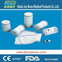 Ce & ISO13485 aprovado médica bandagem elástica crepe bandagem estiramento Bandage