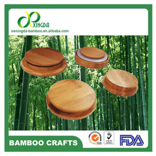 Quality promise Factory offer all kinds of bamboo cup lid with logo