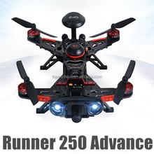 Latest DIY mini drone Runner 250 advance FPV GPS direction warning lamp