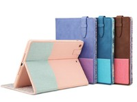 Magnetic Smart Cover Leather + Back Case for New Apple iPad 5 iPad Air