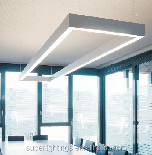 Aluminum Profile Suspended Led Linear Lighting System
