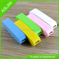 2600mAh 5V, 1A Olive portable corporate gifts power bank for mobile phone, promotions suppliers