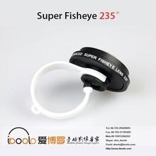 235 degree super fisheye lens universal clip for most phone
