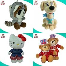 Wholesale Stuffed Soft Fabric Plush Toys ,Custom Plush Toys, Plush Bear Toy