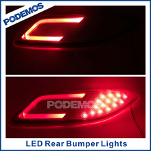 For Honda HRV led rear bumper lights car reflector led lights led car lights tuning accessories auto parts
