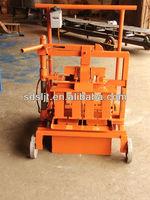 QMJ2-45 Mobile Block Making Machine petite fabrication de briques de ciment machine