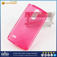 GGIT Smooth glaze TPU Phone Case for LG G3 D690 with Transparent design and Colorful choice
