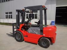 Wholesale good quality 2 ton mini pallet truck fork lift with isuzu diesel engine