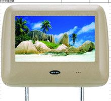 headrest dvd player for audi with FM transmitter /USB /speakers /sd/games