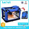 Comfort travel folding pet carrier soft dog travel crate