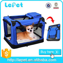 Comfort travel folding pet carrier soft dog crate