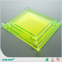 cafeteria acrylic serving trays on sale