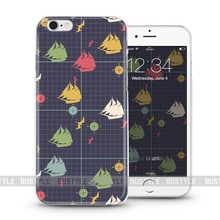 customize mobile phone cover Lattice pattern case for iPhone 6