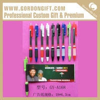Personality design handmade pull out banner pen import from china