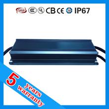 5 years warranty 30W 60W 70W 80W 100W 120W 150W 200W 240W 250W 0-10V PWM compatible LED driver