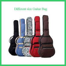 new design wholesale colorful customized beautiful guitar case